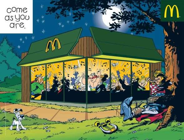 Mc Donalds Ads  7
