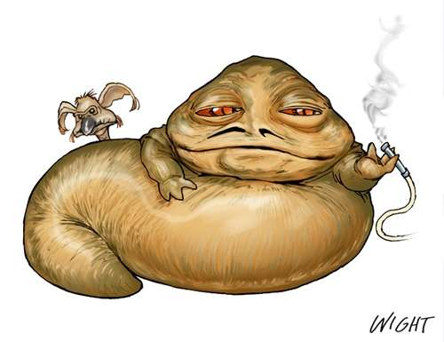 J Is For Jabba By Joewight