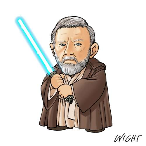 O Is For Obi Wan By Joewight