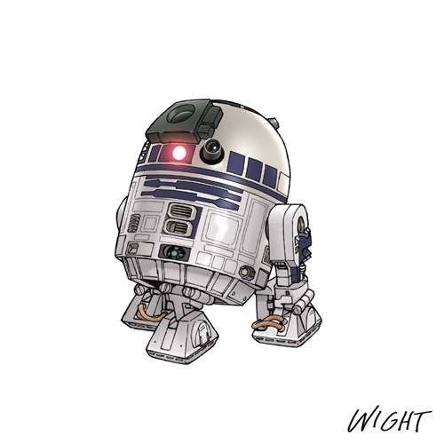 R Is For R2 D2 By Joewight