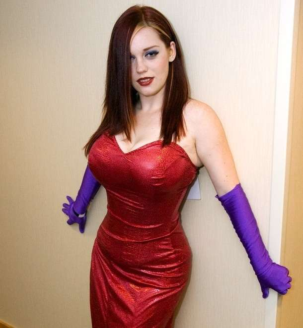 Cosplay Jessica Rabbit  1
