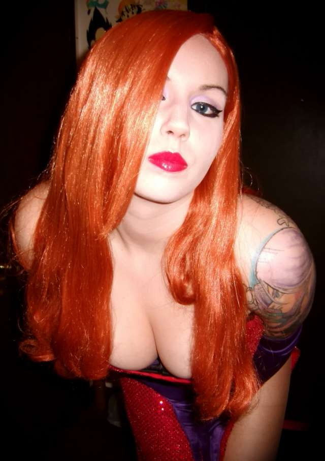 Cosplay Jessica Rabbit  10