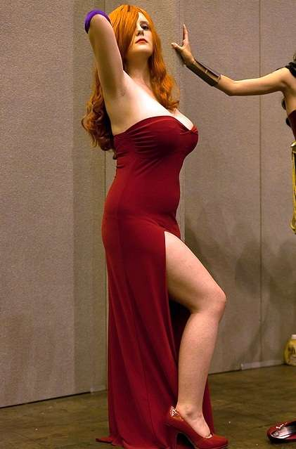 Cosplay Jessica Rabbit  12