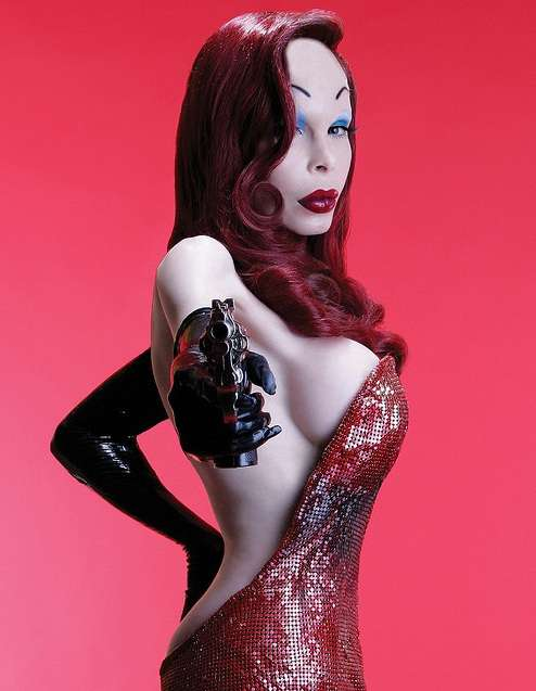 Cosplay Jessica Rabbit  15