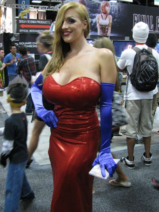Cosplay Jessica Rabbit  16