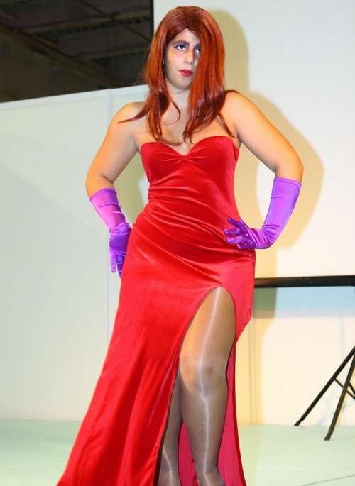 Cosplay Jessica Rabbit  17