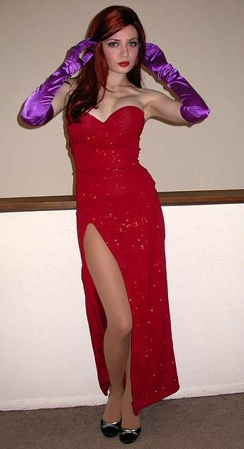 Cosplay Jessica Rabbit  2