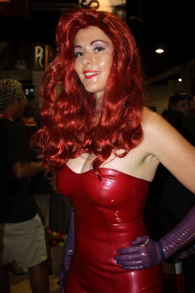 Cosplay Jessica Rabbit  4