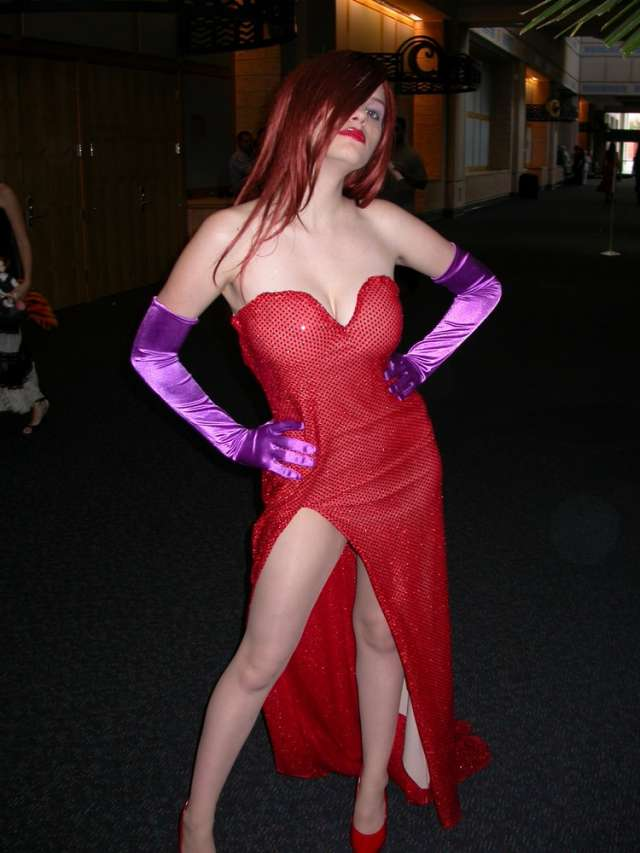 Cosplay Jessica Rabbit  5