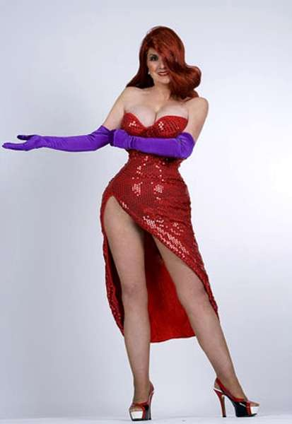 Cosplay Jessica Rabbit  6