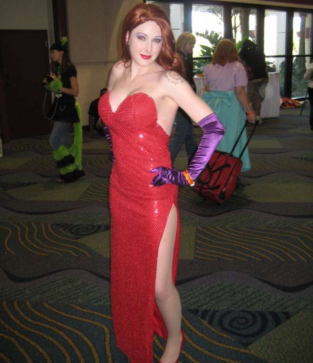 Cosplay Jessica Rabbit  7
