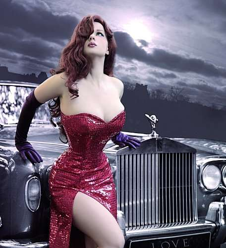 Cosplay Jessica Rabbit  8