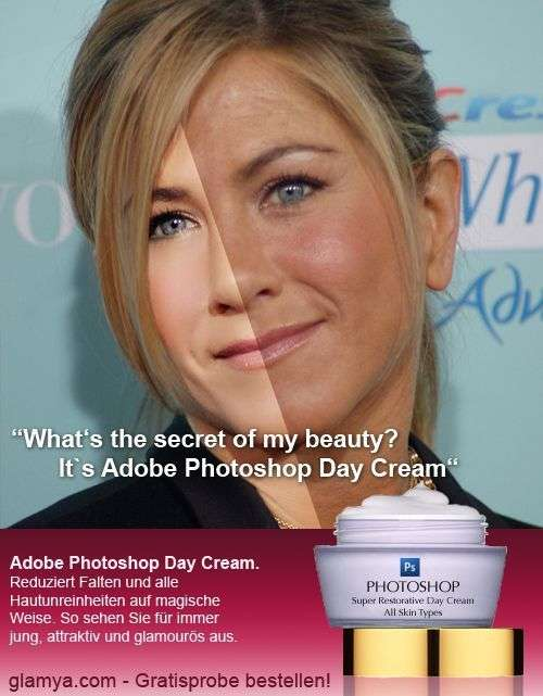 Photoshop Jennifer Aniston