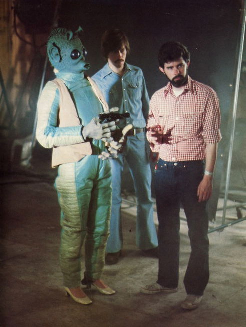 Han Solo shoot on Greedo woman