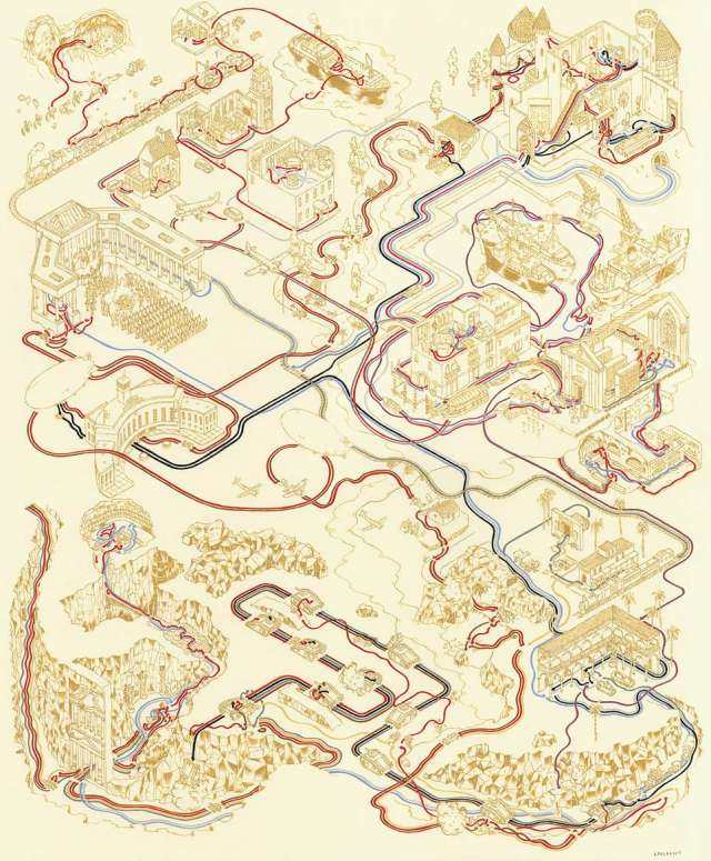 Andrew Degraff Indiana Jones Map 3