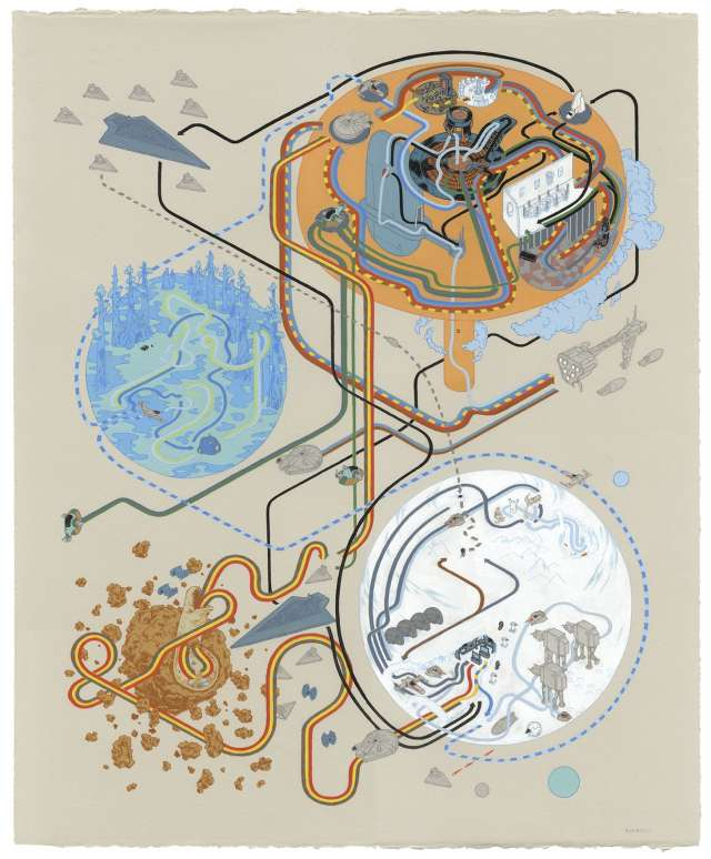 Andrew Degraff Star Wars V Map