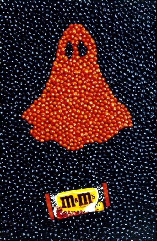 Affiche M And Ms  Halloween Fantome