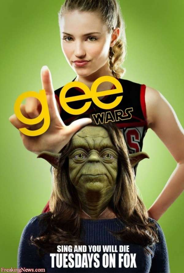 Mashup Affiche Cinema Star Wars Glee