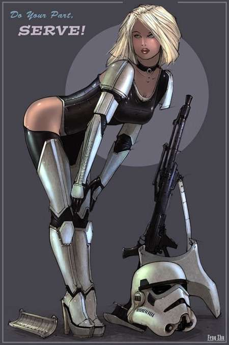 Star Wars Girl 1