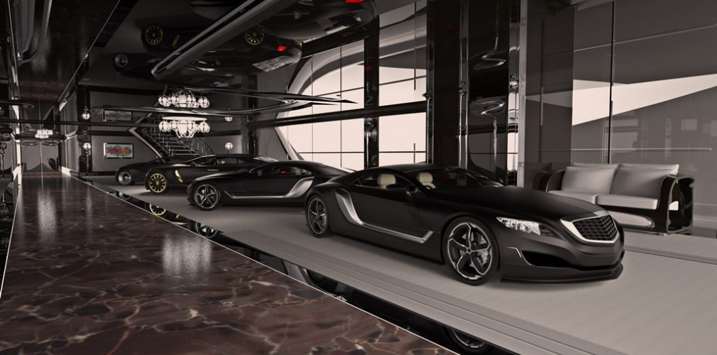 Yacht xhibitionist tranches du net for Garage tony auto