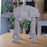 photos Construire un AT-AT en papier... il l'a fait !