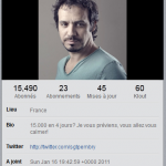 Alexandre Astier explose Twitter