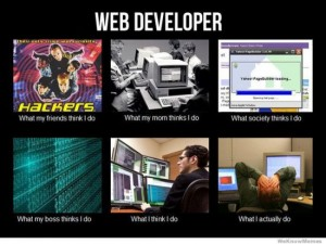 photos Les développeurs Web - What I Actually Do