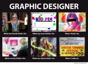 photos Les graphistes - What I Actually Do