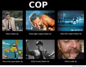 photos Les policiers - What I Actually Do