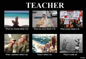 photos Les profs - What I Actually Do