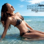 Le calendrier qui va vous faire aimer les mares noires
