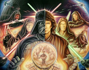 photos Superbes illustrations sur StarWars