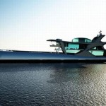 Bateau futuriste
