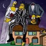 Des affiches de films Simpsonises