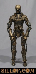 photos Starwars Steampunk, les figurines