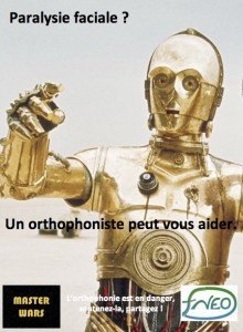 photos Starwars et l'orthophoniste