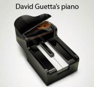 photos Le piano de David Guetta