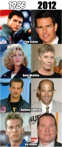 photos Evolution des acteurs de Top Gun