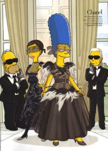 photos Marge Simpsons défile pour les plus grands