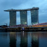 Le Marina Bay Sands Hotel  Singapour, un htel incroyable