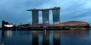 photos Le Marina Bay Sands Hotel à Singapour, un hôtel incroyable