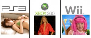 photos Comparatif entre la PS3, la XBox 360 et la Wii