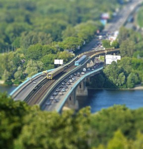 photos Tilt-Shift : le monde en miniature