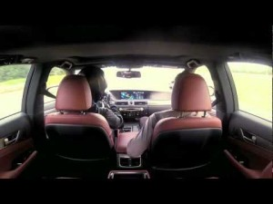 photos 120 battements/minutes en Lexus GS Hybrid