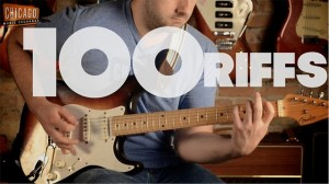 photos 100 riffs de guitare en 12 minutes