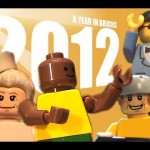 L&rsquo;anne 2012 en Lego