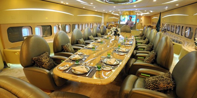 Jets priv s le luxe des int rieurs for Interieur avion