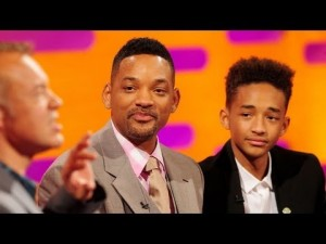 photos Will & Jaden Smith + Carlton au Graham Norton Show