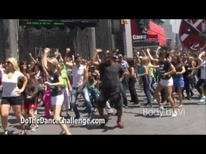 photos Carlton Flash Mob