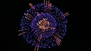 photos Compétition de feux d'artifices au Japon